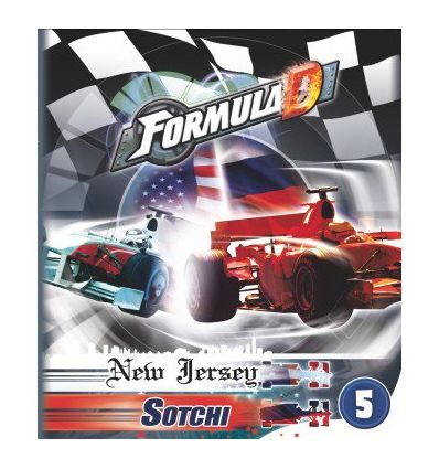 Formula D : Circuit New Jersey / Sotchi (Extension)