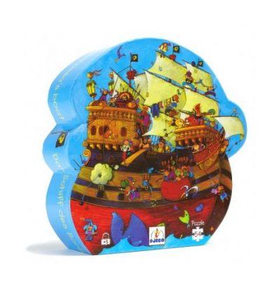 Puzzle Le bateau de Barberousse - 54pcs