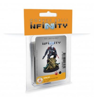 Infinity The Game - Code One: Ninjas (Submachine gun, tactical bow)