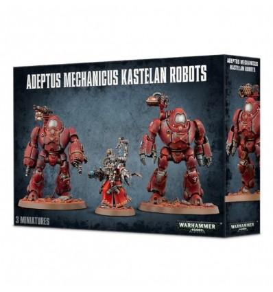 [Cult Mechanicus] Adeptus Mechanicus Kastelan Robots