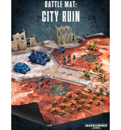 *Battle Mat : City Ruins