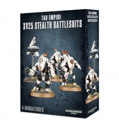[Tau Empire] XV25 Stealth Battlesuits