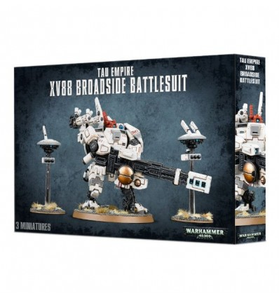 [Tau Empire] XV88 Broadside Battlesuit