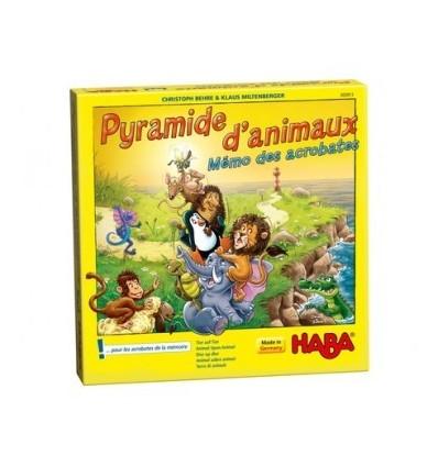 Pyramide d'Animaux - Mémo des Acrobates