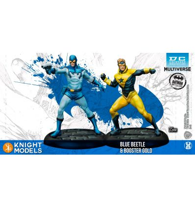 Blue Beetle & Booster Gold