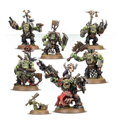 [Orks] Warboss Grukk's Boss Mob