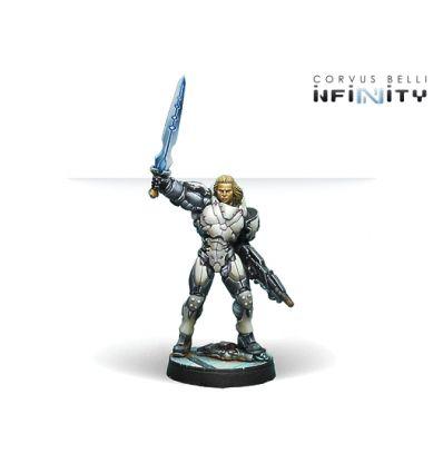 [Infinity] Achilles v2 (Hoplite Armor) (Multi Rifle, CCW)