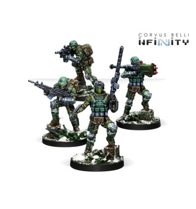 [Infinity] Frontoviks, Assault Separated Bat.