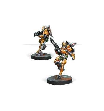 [Infinity] Tiger Soldiers (Spitfire/ Boarding Shotgun)