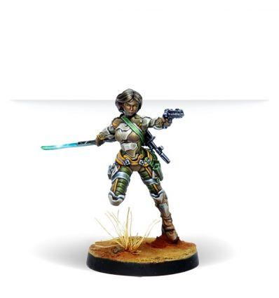 [Infinity] Namurr Active Response Unit (Heavy Pistol, E/M CCW)